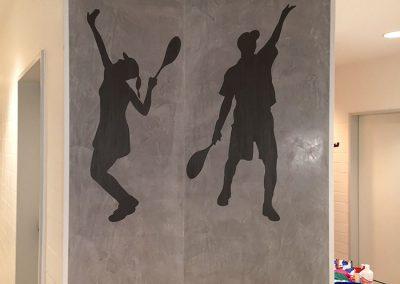 Spachteltechnik Tennis Club